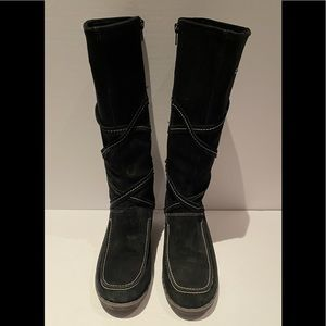 ARTICA All suede black high boots